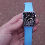 Apple Watch 落下によるガラス割れ破損に注意